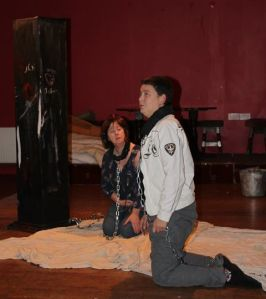 Maura Lucey and Diane Searls in the Coachford Players production of 'NINE'