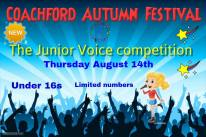 Junior Voice poster