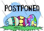 Easter postponed