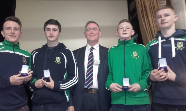 Aghabullogue GAA Quiz Team who represented Cork in the All Ireland Scor Quiz