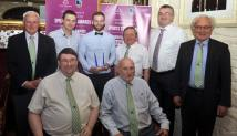 Members of the Muskerry Bboard with award receipient Sean O'Sullivan